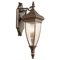 Kichler Lighting 49131BRZ Outdoor Wall 2Lt