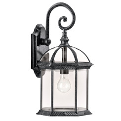 Kichler Lighting 49186BK Outdoor Wall 1Lt