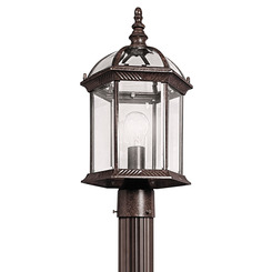 Kichler Lighting 49187TZ Outdoor Post Mt 1Lt