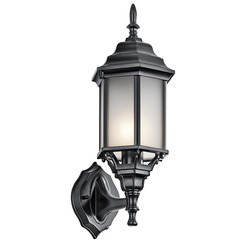 Kichler Lighting 49255BKS Outdoor Wall 1Lt