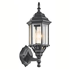Kichler Lighting 49255BK Outdoor Wall 1Lt