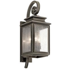 Kichler Lighting 49502OZ Outdoor Wall 3Lt