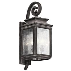 Kichler Lighting 49502WZC Outdoor Wall 3Lt