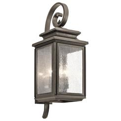 Kichler Lighting 49503OZ Outdoor Wall 4Lt
