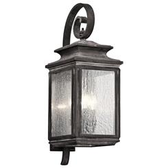 Kichler Lighting 49503WZC Outdoor Wall 4Lt