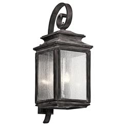 Kichler Lighting 49504WZC Outdoor Wall 4Lt