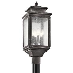 Kichler Lighting 49506WZC Outdoor Post Mt 4Lt