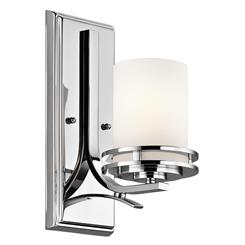 Kichler Lighting 5076CH Wall Sconce 1Lt