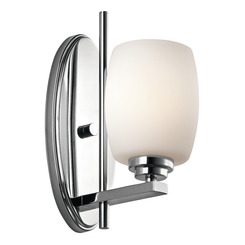 Kichler Lighting 5096CH CLEARANCE SALE - Eileen™ 1 Light Wall Sconce Chrome