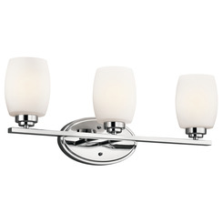 Kichler Lighting 5098CH Bath 3Lt