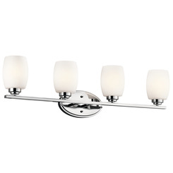 Kichler Lighting 5099CH Bath 4Lt