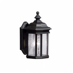 Kichler Lighting 9028BK Outdoor Wall 1Lt