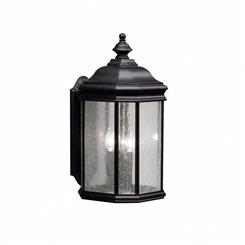 Kichler Lighting 9030BK Outdoor Wall 3Lt