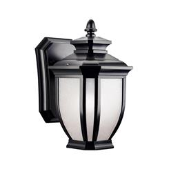 Kichler Lighting 9039BK Outdoor Wall 1Lt