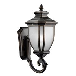 "Kichler Lighting 9042RZ Salisibury™ 24.25"" 1 Light Wall Light Rubbed Bronze™"