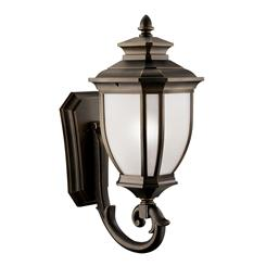 "Kichler Lighting 9043RZ Salisbury™ 29"" 1 Light Wall Light Rubbed Bronze™"