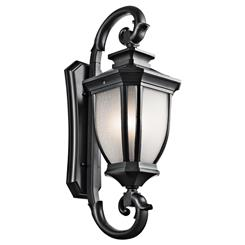 Kichler Lighting 9099BK Outdoor Wall 4Lt
