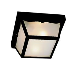 Kichler Lighting 9320BK Outdoor Ceiling 1Lt