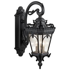 Kichler Lighting 9358BKT Outdoor Wall 3Lt