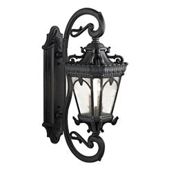 Kichler Lighting 9359BKT Outdoor Wall 4Lt