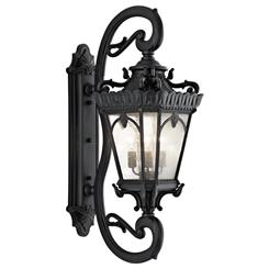 Kichler Lighting 9360BKT Outdoor Wall 4Lt