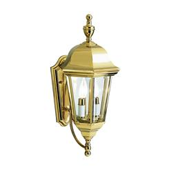 Kichler Lighting 9439PB Outdoor Wall 2Lt