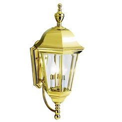 Kichler Lighting 9489PB Grove Mill™ 3 Light Wall Light Polished Brass