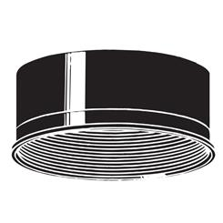 Kichler Lighting 9546BK Accessory Baffle