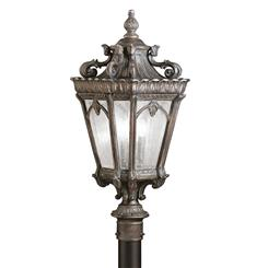 Kichler Lighting 9558LD Outdoor Post Mt 3Lt