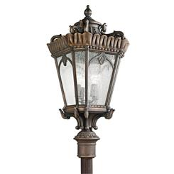 Kichler Lighting 9565LD Outdoor Post Mt 4Lt