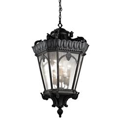 Kichler Lighting 9568BKT Outdoor Pendant 8Lt