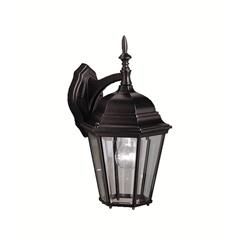 Kichler Lighting 9655BK Outdoor Wall 1Lt