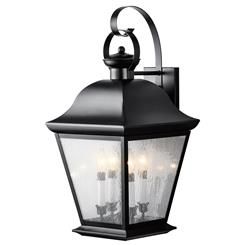 Kichler Lighting 9704BK Outdoor Wall 4Lt