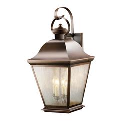 Kichler Lighting 9704OZ Outdoor Wall 4Lt