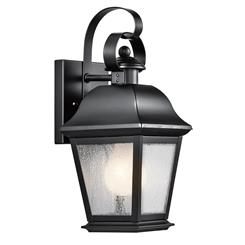 Kichler Lighting 9707BK Outdoor Wall 1Lt