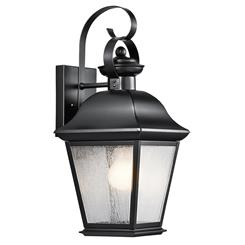 Kichler Lighting 9708BK Outdoor Wall 1Lt