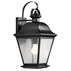 Kichler Lighting 9709BK Outdoor Wall 1Lt