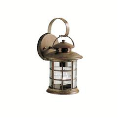 Kichler Lighting 9760RST Outdoor Wall 1Lt