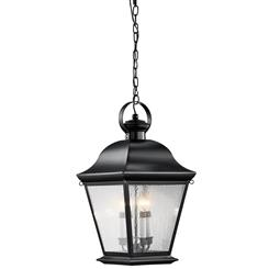 Kichler Lighting 9804BK Outdoor Pendant 4Lt