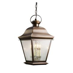 Kichler Lighting 9804OZ Outdoor Pendant 4Lt