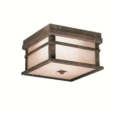 Kichler Lighting 9830AGZ Outdoor Ceiling 2Lt