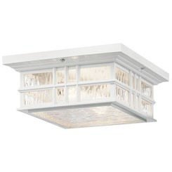 Kichler Lighting 9834WH Indoor/Outdoor Ceiling 1Lt