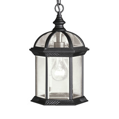 Kichler Lighting 9835BK Outdoor Pendant 1Lt