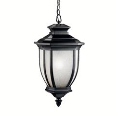 Kichler Lighting 9843BK Outdoor Pendant 1Lt