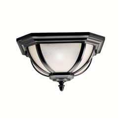Kichler Lighting 9848BK Outdoor Ceiling 2Lt