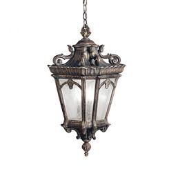 Kichler Lighting 9855BKT Outdoor Pendant 3Lt