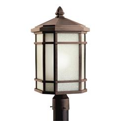 Kichler Lighting 9902PR Outdoor Post Mt 1Lt