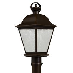 Kichler Lighting 9909OZLED Outdoor Post Mt 1Lt LED