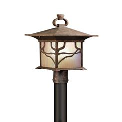 Kichler Lighting 9920DCO Outdoor Post Mt 1Lt