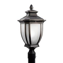 Kichler Lighting 9938RZ Outdoor Post Mt 1Lt